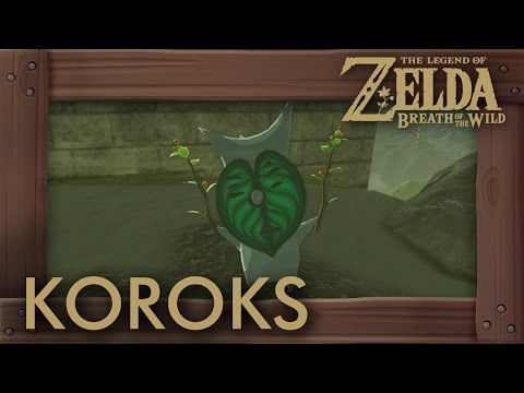 Zelda Breath Of The Wild All Korok Seeds Great Plateau