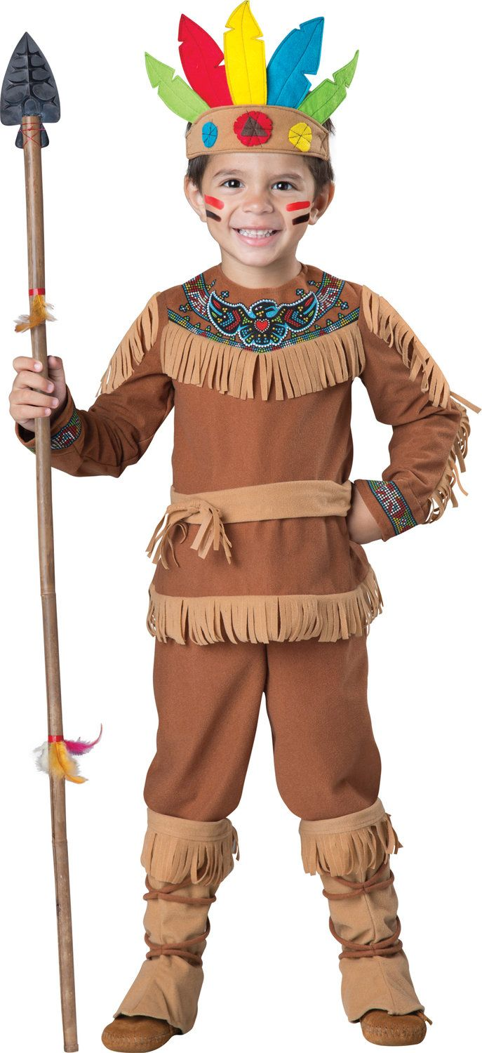 Little Indian Brave Kids Costume - Mr. Costumes