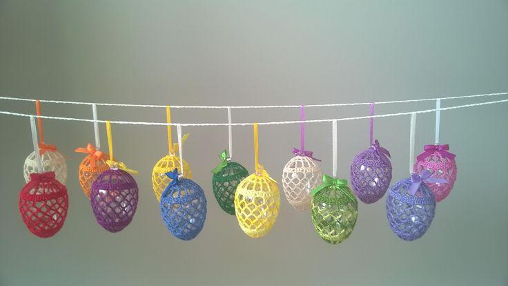 Szydełkowe jajeczka