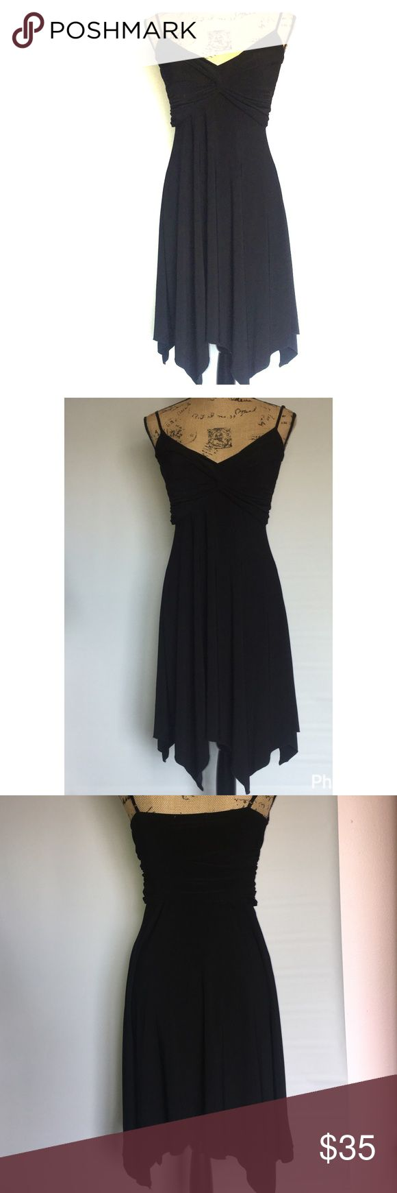 📌PRICE REDUCED 📌 Charlotte Russe black dress Charlottes Russe black dress size small prom Little black dress uneven bottom Charlotte Russe Dresses Prom