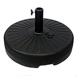 Sunnyglade Heavy Duty 23l Round 20 Water Filled Patio Outdoor