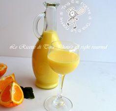 Liquore crema di arance