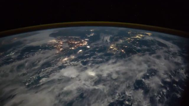 NASA releases video showing lightning strikes from space - 9news.com.au #757Live