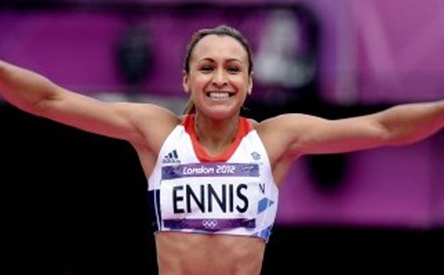 Jessica Ennis has further cemented her status as the nation's golden girl by being voted British Olympic Athlete of the Year for 2012 by athletics fans across the country. #Gogirl!