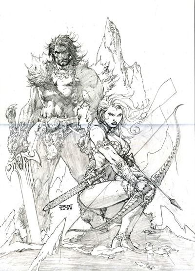 Red Sonja/Claw #1