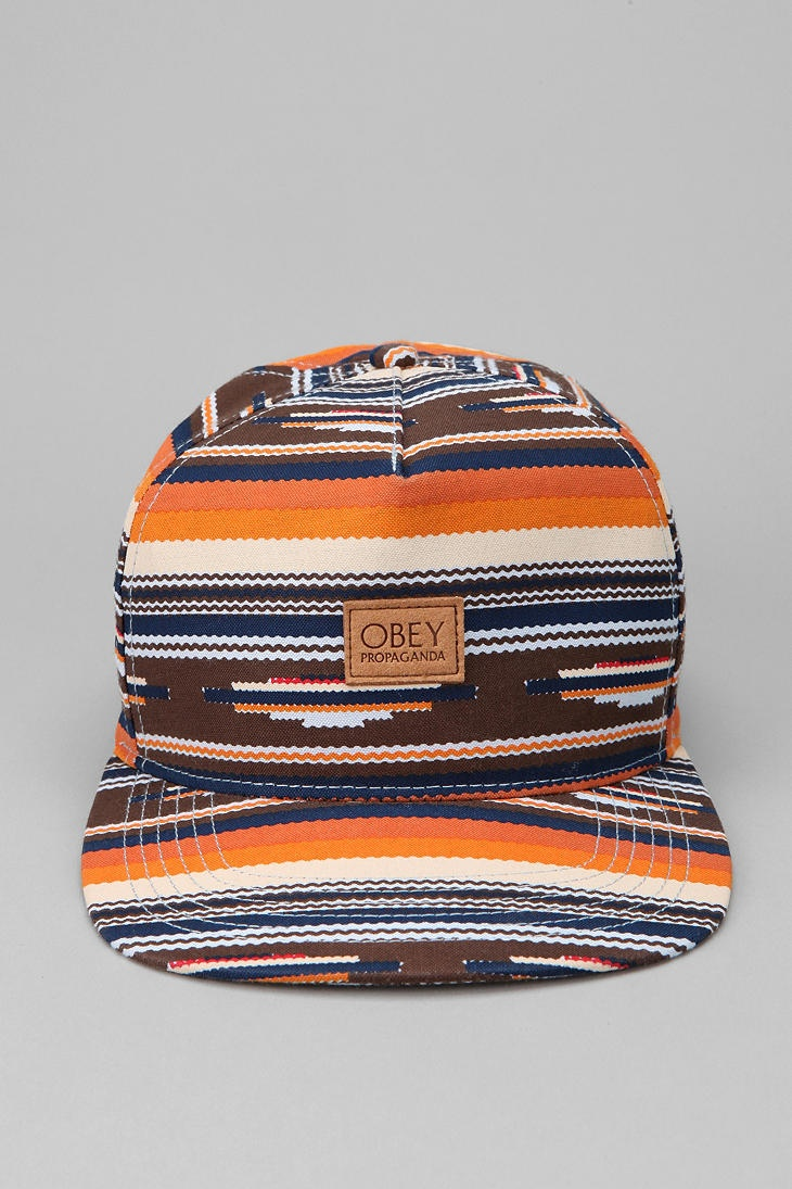 OBEY San Juan Snapback Hat  #UrbanOutfitters