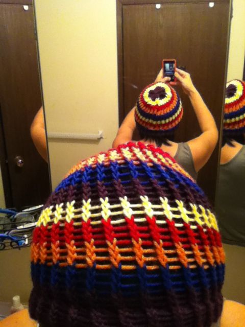 knit beanie.. my beanie
