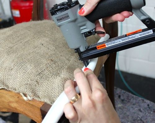 Upholstery Basics:  Constructing Coil Seats - Part 2  {The Best Step by Step Upholstering Tutorial I've Ever Seen!  Learn to Upholster like a Professional.}