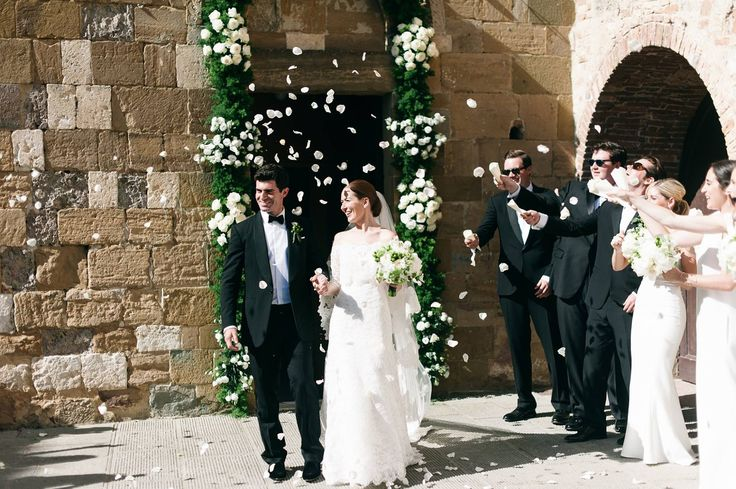 Meg Scanlon and Michael McGillen's Intimate Destination Wedding in Tuscany
