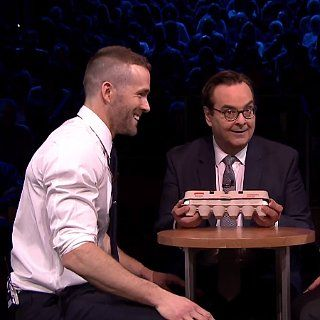 Ryan Reynolds Goes Head to Head With Jimmy Fallon in Egg Russian Roulette: Ryan Reynolds may be known for his career and his good looks, but the new father also has a daring side.
