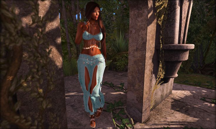 Heimo SL Blog post: At the Crossroads with fashion for women and dinkies. http://heimoslblog.blogspot.fi/2016/07/at-crossroads.html #SLdinkies #SecondLife #SLfashion