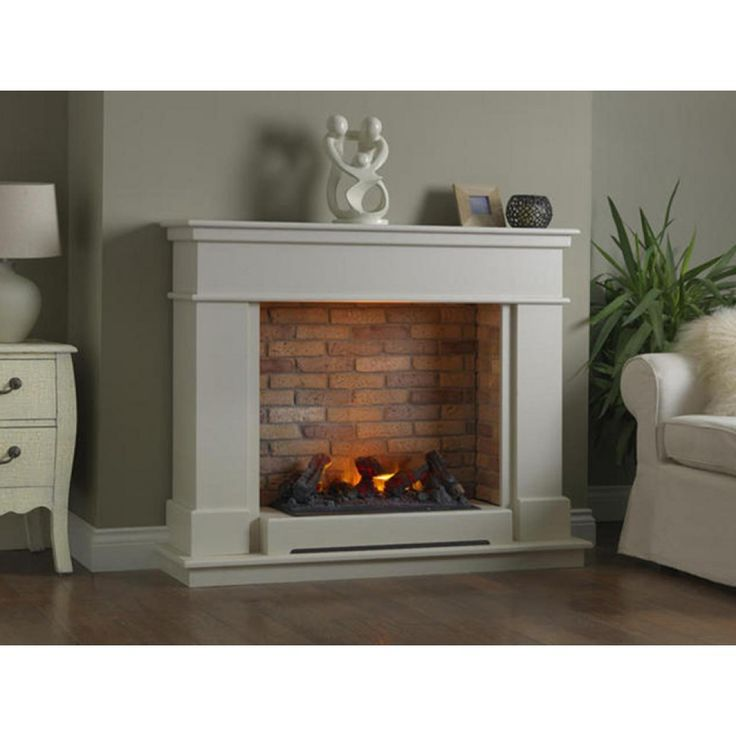 Katell Vittoria free standing electric fire suite