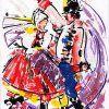 Lenka Jureckova - folk art, painting, watercolour, drawing