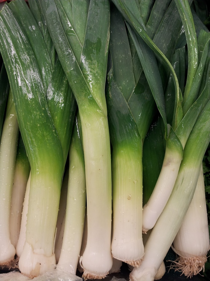 ... is for Leeks on Pinterest | Roasted leeks, Humble pie and Leek soup