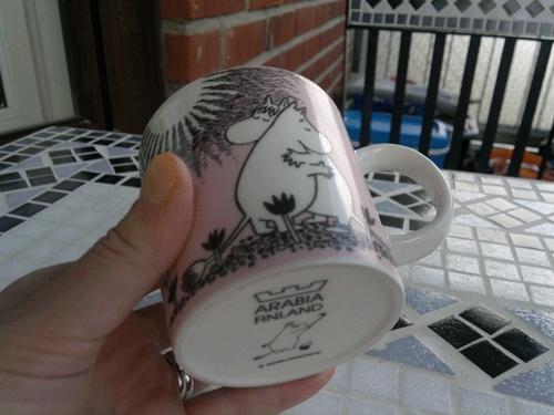 Muumi love mug (rakkaus-muumimuki)