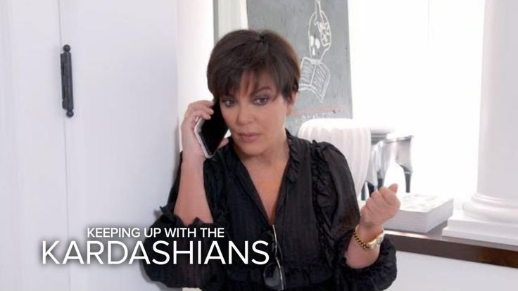 KUWTK | Kris Jenner Receives Emergency Call From Kendall | E! - YouTube