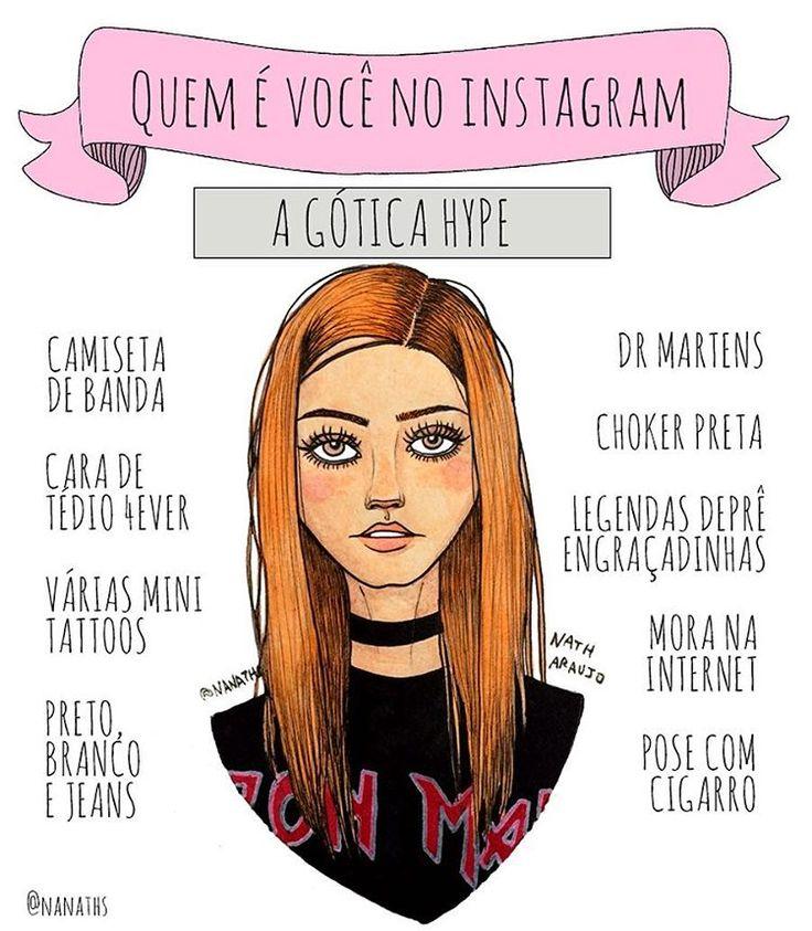 "6,810 Likes, 850 Comments - Nath Araújo (@nanaths) on Instagram: ""Me sinto no dever de começar esse texto explicando para os leigos que o conceito de gótica mudou…"""