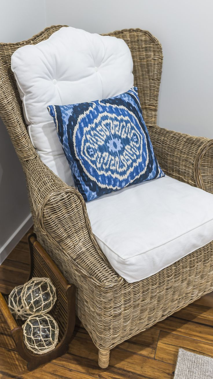 This Rattan #armchair can be found in #Ausbuild's Attwood display home.