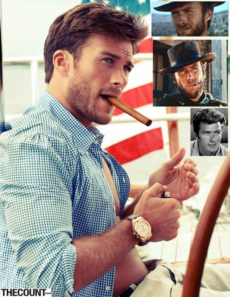 Clint Eastwood's son, Scott Eastwood: SON SPLITTING IMAGE OF A YOUNG CLINT EASTWOOD!!! MEOW!!!