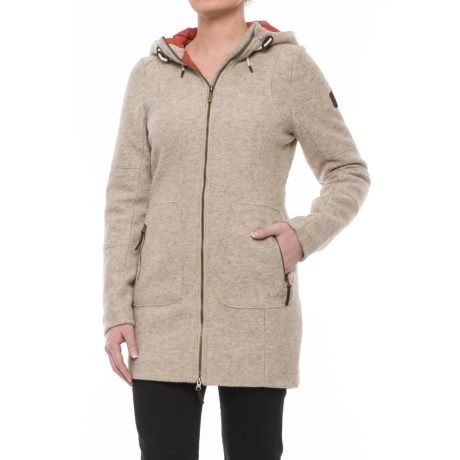 Craghoppers Hepworth Jacket - Wool Blend (For Women) in Almond
