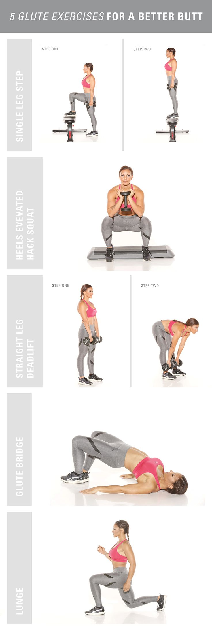 AliciaBell 5 Best Glute Exercises InfoGraphic