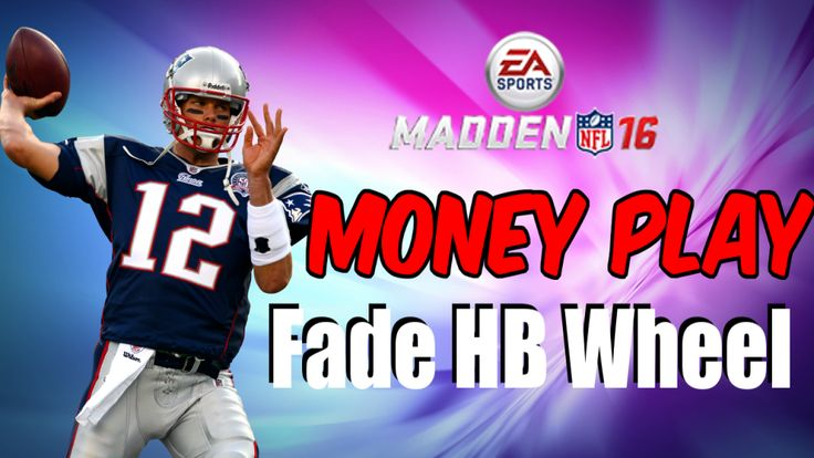 Money Play Monday continues with this Madden 16 Money Play. Check out the money play Fade Hb Wheel from the New England Patriots Playbook in Madden 16