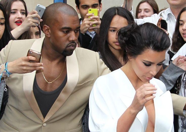 Kim et Kanye, lune de miel en Irlande. - soirmag.be
