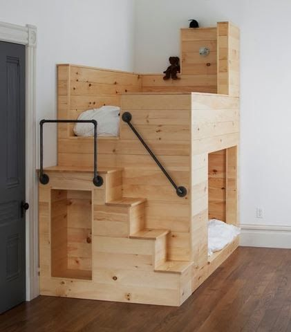 Bunk Bed - Matt Bear / Union Studio : houzz #kids #bed #tiny_house