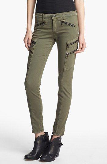 rag & bone/JEAN 'Larit' Skinny Cargo Jeans available at #Nordstrom