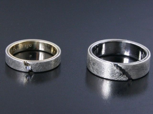 #Rings by #Bielak  certified white gold / yllow gold / #palladium  #unique #wedding rings from #Poland  #HandMade