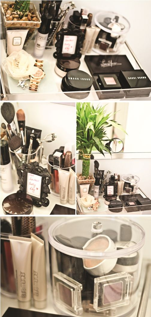 Makeup Organization LOL, @Sarah Chintomby Chintomby Chintomby Chintomby Young I see Bobbi Brown! (what's bobbi brown?)