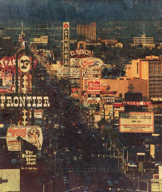 Look at this vintage Vegas photo we found! Looks a little different today. What do you miss about old Vegas?