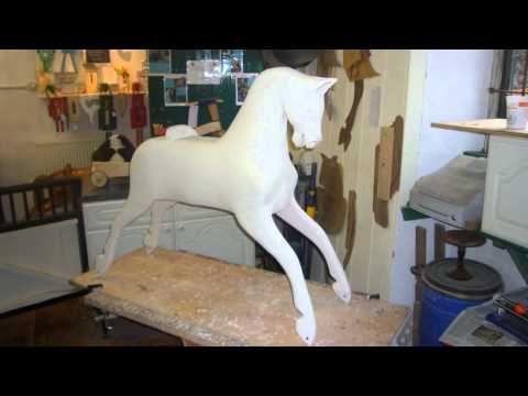 Collinson Rocking Horse Restoration.mpg - YouTube