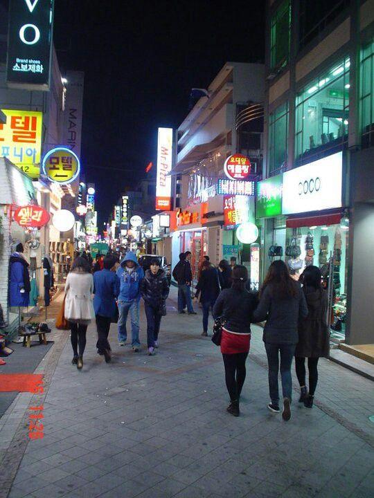 Downtown Gwangju Korea