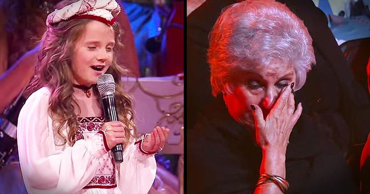 Young Girl's Voice Moves The Audience To Tears - Inspirational Videos