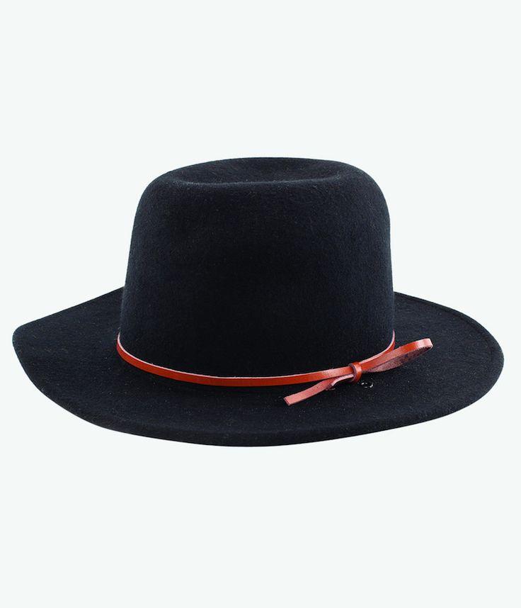 RHYTHM SUFFOLK HAT BLACK - Frendz & Co.