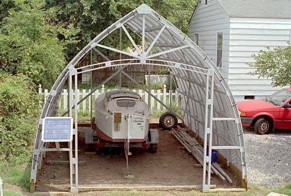 38 best greenhouse images on pinterest green houses for Bow roof shed