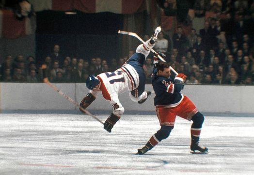 Rangers vs. Canadiens, 1965