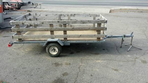 4x8 utility trailer Bend $150