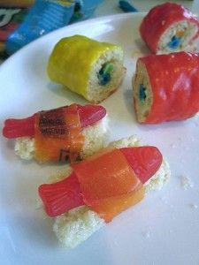 Candy Sushi - aka fun on a plate!