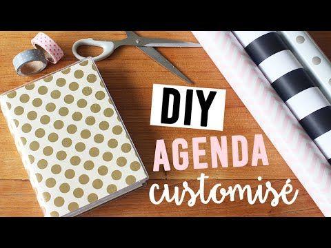 DIY - Customiser son agenda   camillegrandxo - YouTube