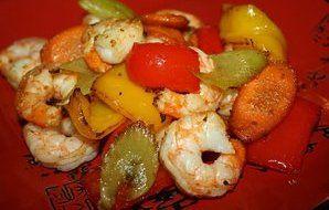 Shrimp and Veggie Stir-Fry (Actifry) Recipe - Recipezazz.com