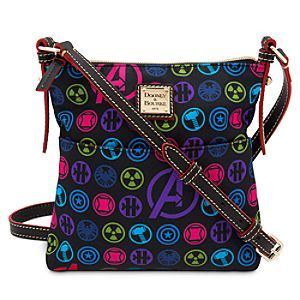 Avengers Nylon Letter Carrier Bag by Dooney & Bourke | Marvel |Marvel's Avengers Nylon Letter Carrier Bag by Dooney & Bourke - If your style includes super feats of fashion, deliver a powerful punch with this Avengers Letter Carrier Bag by Dooney & Bourke, made of silky nylon fabric and fine leather trims.