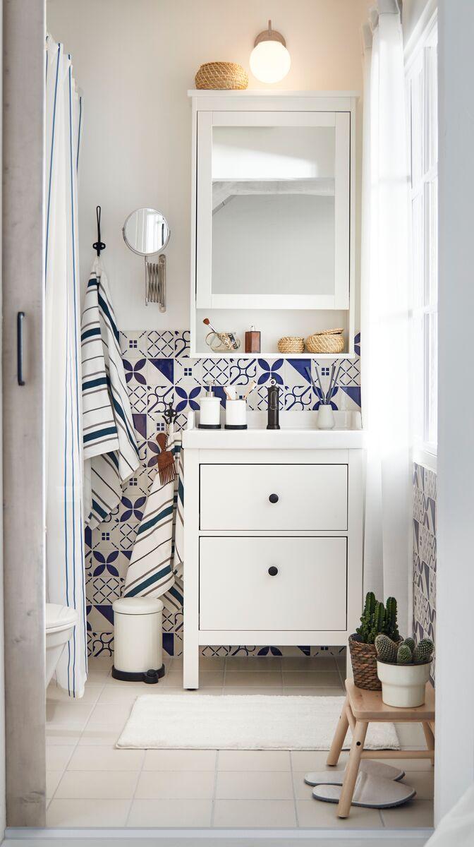 Hemnes Mirror Cabinet With 1 Door White Ikea Switzerland
