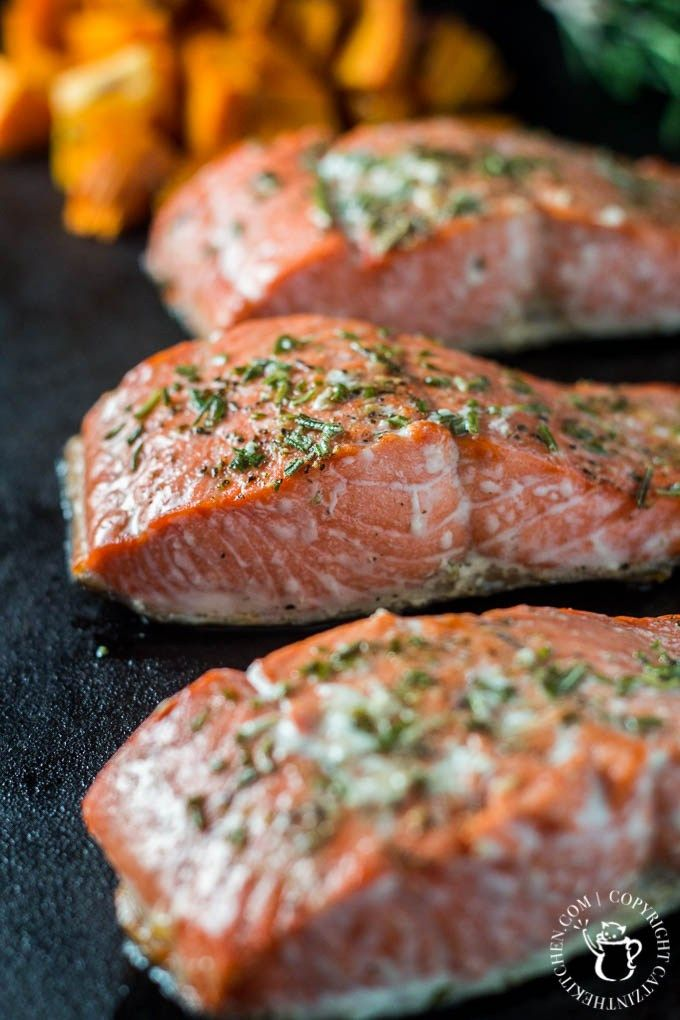 broiled rosemary salmon salmon recipes fish recipes seafood recipes ...