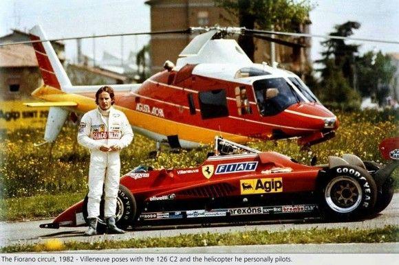 Gilles Villeneuve Circuito Fiorano 1982