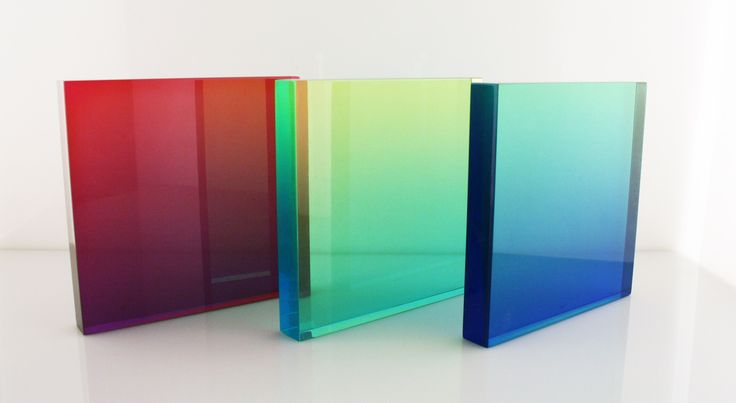 Cast Acrylic With Colour Gradients Our Favorite New Technique Acrylic Furniture Acrylic Cast Acrylic