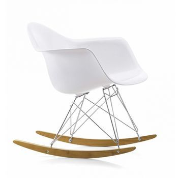 Eames Plastic Armchair RAR Rocking Chair | Vitra | AmbienteDirect.com