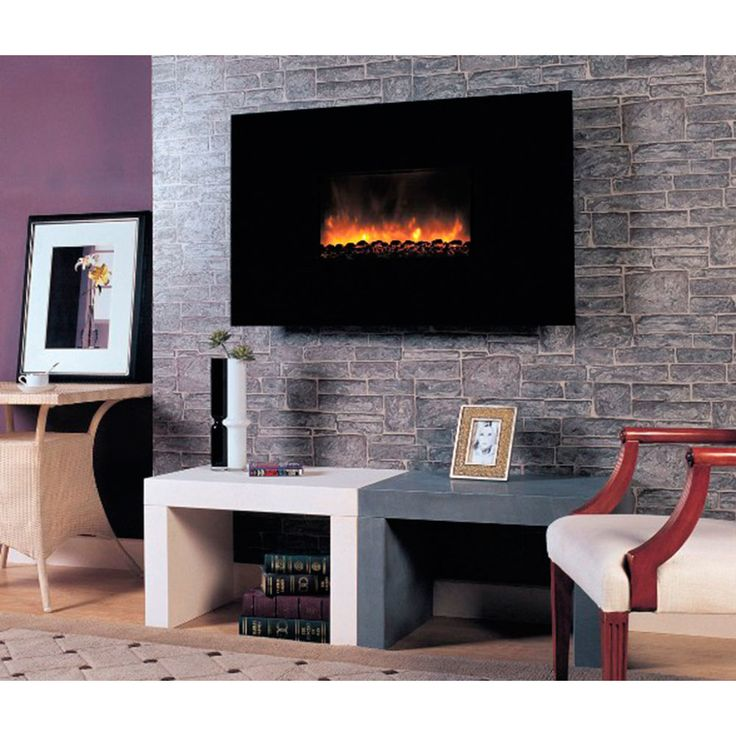 Fireplace Design wall fireplaces : 30 best Wall Mount Fireplaces images on Pinterest