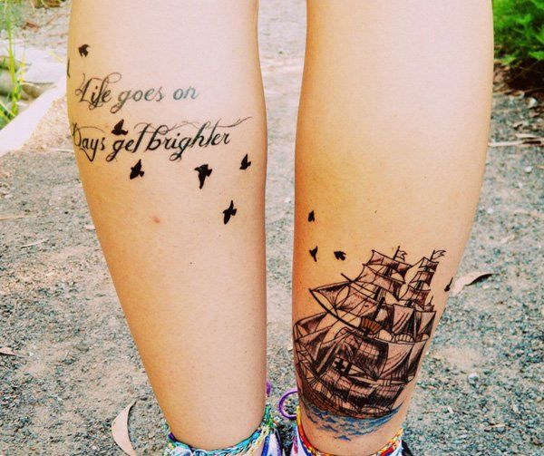 100 Boat Tattoo Designs